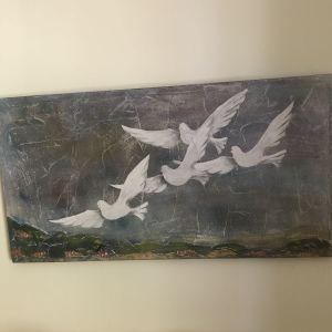 Πίνακας ανάγλυφος της Γ. Γαληνου