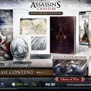 Assassin's Creed III - Join Or Die Edition για PS3