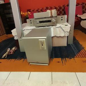 home sinema  ραδ/της  YAMAHA RXV 440 6×65  ηχεία CRUSTAL SUSTEM 4