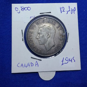50 CENTS CANADA 1945