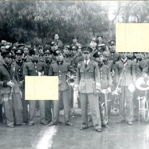 Φιλαρμονική Μπάντα Πειραιάς (1939 - 1940) ΕΟΝ Ορχήστρες Μουσικά Σύνολα Αρχιμουσικός Peraias old Marching Band Pireas Piraeus
