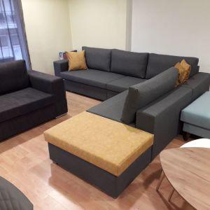 Πολυμορφικός γωνιακος καναπές