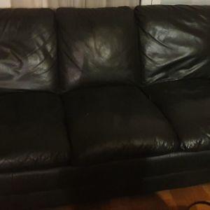 Μαυρος 3θεσιος καναπες