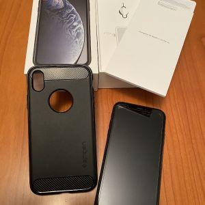iphone XR 128Gb black σε αριστη κατάσταση σχεδόν καινουργιο