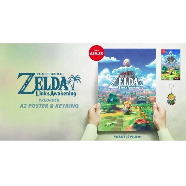 Zelda Link's Awakening sillektiki afisa poster