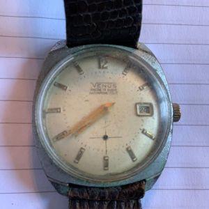 Venus αντρικό ελβετικό ρολόι 1960 κουρδιστό