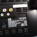 ΦΟΡΗΤΟ DVD & TV PLAYER IQ DVD-397 BX