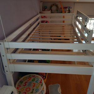 Παιδικό κρεβάτι Tobias Polihome με τσουλήθρα (ΛΕΥΚΟ)