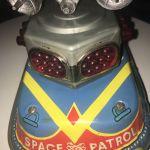 Τσίγκινο παιχνίδι Ανανιάδης space διαστημόπλοιο