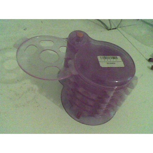 thiki CD-DVD Safekeeping Plastic Red Case