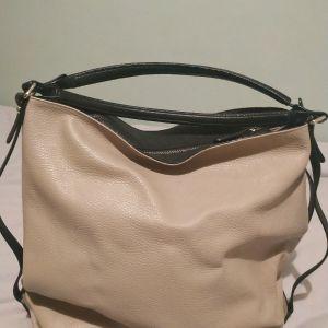 cromia δερμάτινη μεγάλη τσάντα ωμου