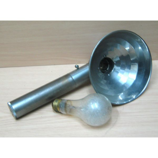 Flash holder & lampa  magnisiou mias chrisis