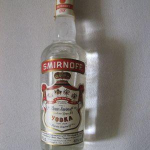 Βότκα Smirnoff No.21, 70cl-40%, αγορά δεκαετία '90, σφραγισμένη