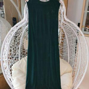 Πράσινο φόρεμα L νούμερο