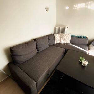 Γωνιακός καναπές - κρεβάτι με αποθηκευτικό χώρο