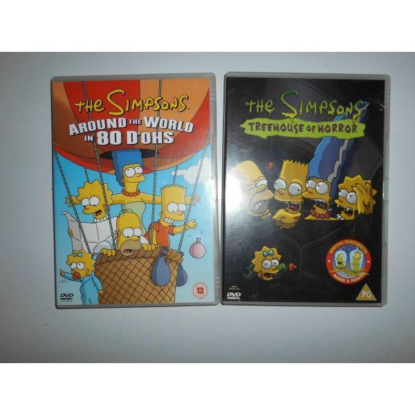 sillektika DVD SIMPSONS THREEHOUSE OF HORROR ke AROUN THE WORLD 80