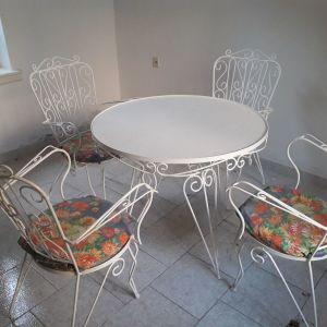 Τραπέζι εξωτερικού χώρου FER FORZE με 4 καρέκλες