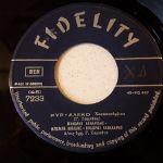 Vinyl record 45 - Μανώλης Καναρίδης - Μπέμπα Μπλανς - Θόδωρος Κανακάρης