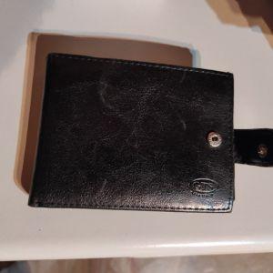Πορτοφόλι αντρικό μαύρο GTS