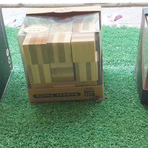 BAMBOO PUZZLE, 6 παιχνίδια ευφυίας, αχρησιμοποίητα, στο κουτί τους