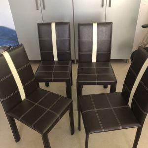 4 καρέκλες ΚΟΥΖΙΝΑΣ / ΣΑΛΟΝΙΟΥ / ΕΞΩΤΕΡΙΚΟΥ ΧΩΡΟΥ