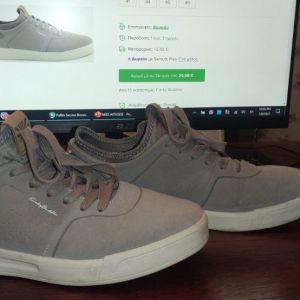 Παπούτσια Νο42 - Funky Buddha 001.003782 Μπεζ