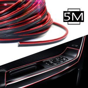 μήκος 5 μέτρα  Διακοσμητική αυτοκόλλητη ταινία για το εσωτερικό του  αυτοκινήτου σας
