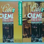 Γαλλικά εκπαιδευτικά βιβλία. CAFE 2 CREME. Delf A2.
