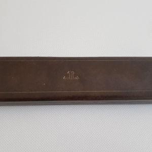 Jaeger lecoultre vintage δερμάτινη θηκη