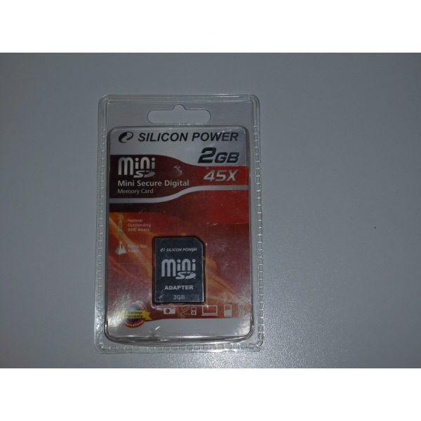 Memory card SD silicon power 2GB