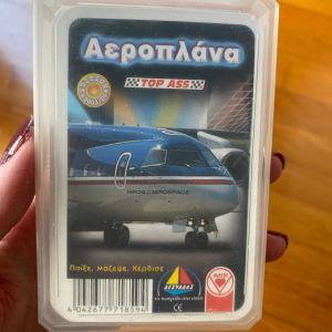 Παιχνίδι με κάρτες αεροπλάνα