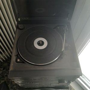 Philips FP 9500 ραδιόφωνο πικάπ κασέτα