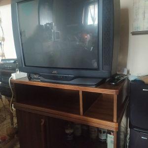 Επιπλακι μαζί με τηλεόραση JVC