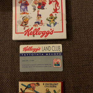 Kelloggs συλλεκτικά δεκαετίας 90