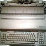 Ηλεκτρονική Γραφομηχανή Olivetti ET2200 (mod. 1988) -ΑΘΙΚΤΗ!