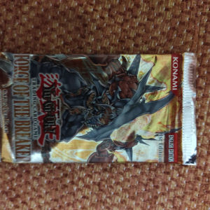 Yugioh force of the breaker sealed 1st edition