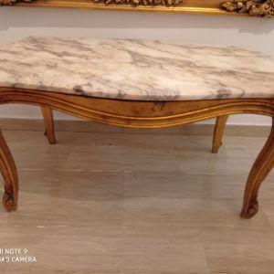 Σκαλιστό Μαρμάρινο Τραπέζι 1,00cmX0.63cm
