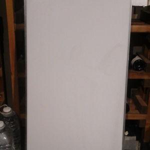 Φωτεινή επιγραφή-ταμπέλα 2 όψεων κάθετη,  125cm Χ 60cm.