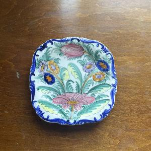 Vintage Διακοσμητικό Πιάτο, Ζωγραφισμένο στο χέρι, K. N. SKYROS