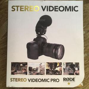 Μικρόφωνο για φωτογραφική μηχανή RODE, NOS