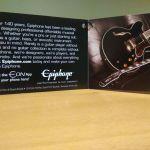 EPIPHONE Les Paul Ηλεκτροακουστικό Ukulele Vintage Sunburst (Concert)