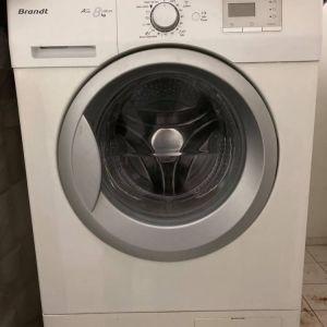 Πλυντηριο ρουχων Brandt A+++1200.στροφες,το πλυντηριο ειναι σε αριστη κατασταση, δεν εχει το παραμικρο προβλημα. μεταφορα εξτρα 20 ευρω