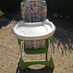 Καθίσματακι βρεφικό - παιδικό ρυθμιζόμενο με ροδάκια