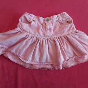 Φούστα τζιν/τούλι ροζ Alouette (3 ετών)