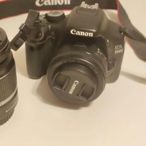 Canon eos 550D + 2 φακοί