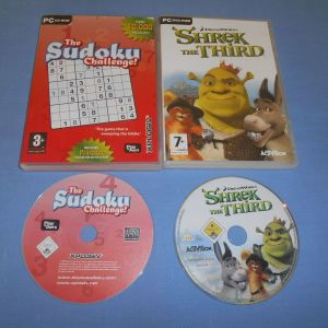 THE SUDOKU CHALLENGE - SHREK THE THIRD - PC GAMES