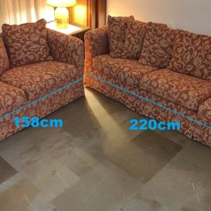 Καναπές 3θέσιος & 2θέσιος - Πωλείται και χωριστά