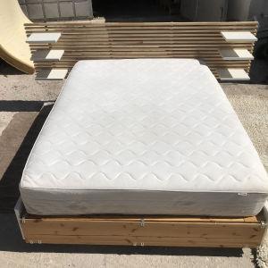 Κρεβάτι ολοκληρωμένο IKEA mandal 140x200 με στρώμα IKEA sultan 140x200