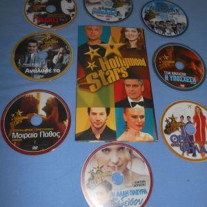 HOLLYWOOD STARS 8 DVD