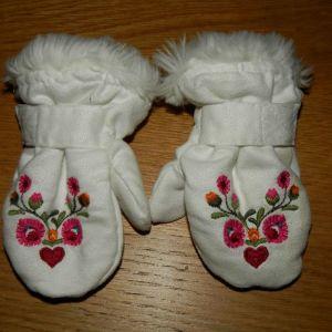 h&m γαντια για 2-6μηνων
